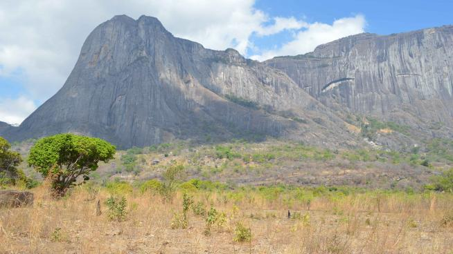 image showing the Ribaue Mountains, Mozambique