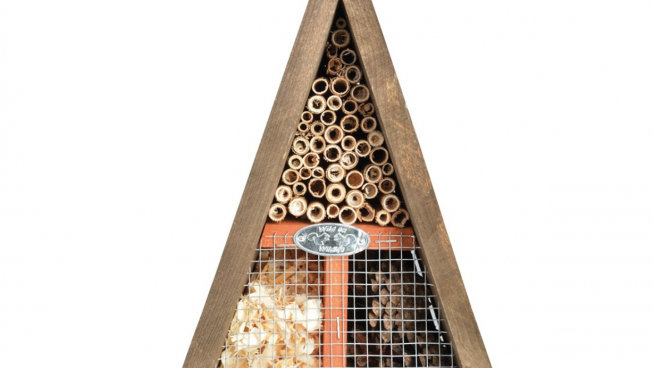 Triangle insect hotel