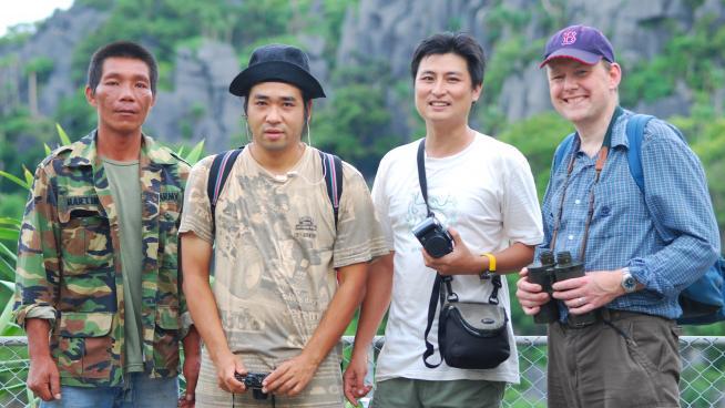 Fieldwork in Thailand (Image: Paul Wilkin)