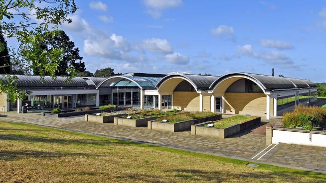The Millennium Seed Bank at Wakehurst, Sussex, where a unique collection of the world's seeds is being created.