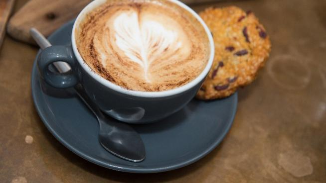 Coffee from new caterers at Wakehurst