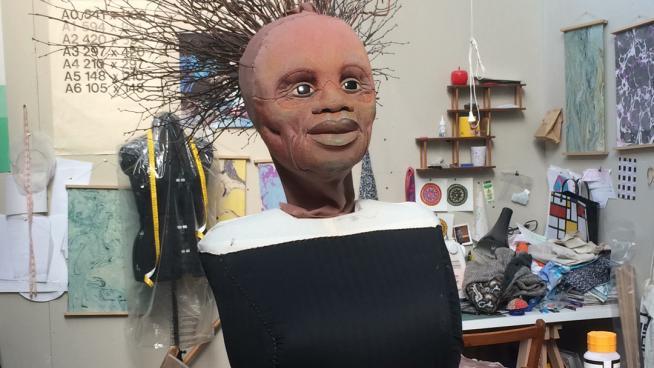Building Siyanda's body in the studio