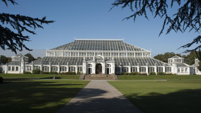 Exterior of the Temperate House