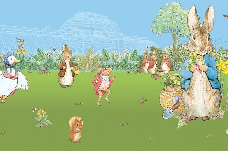 Family fun and garden adventures this Easter - Kew Peter Rabbit image