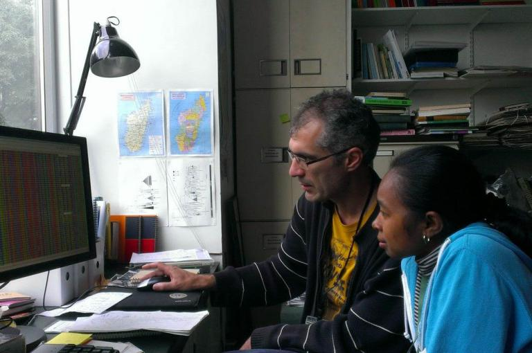 Guillaume Besnard and Nanjarisoa Olinirina Prisca