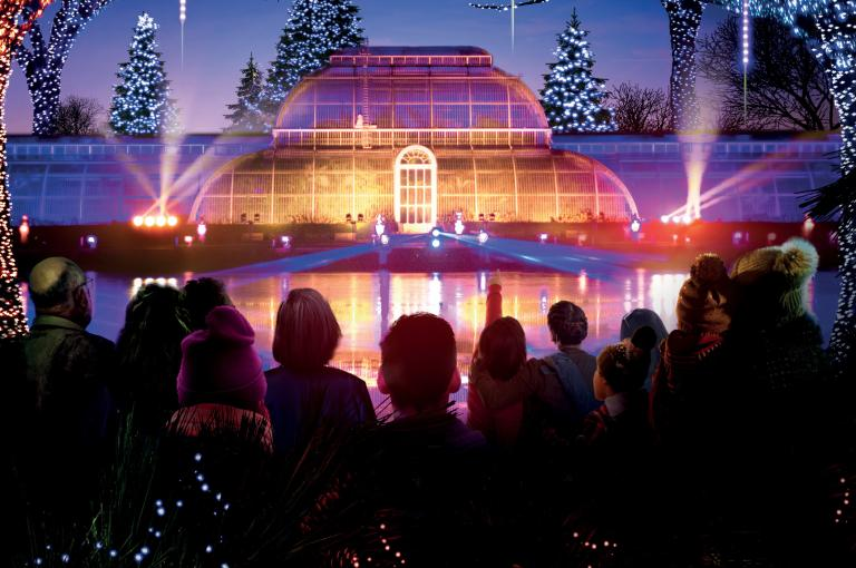 Christmas at Kew - Palm House
