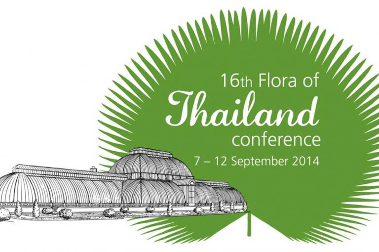 16th Flora of Thailand Conference logo
