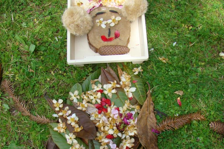 Get creative with materials from the Gardens