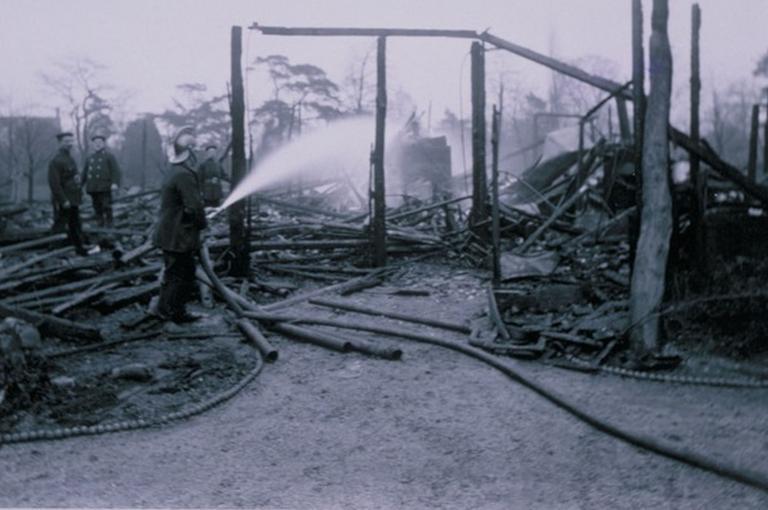 Damage to Kew Gardens