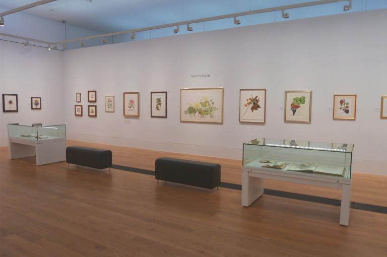 Nature's Bounty at The Shirley Sherwood Gallery of Botanical Art