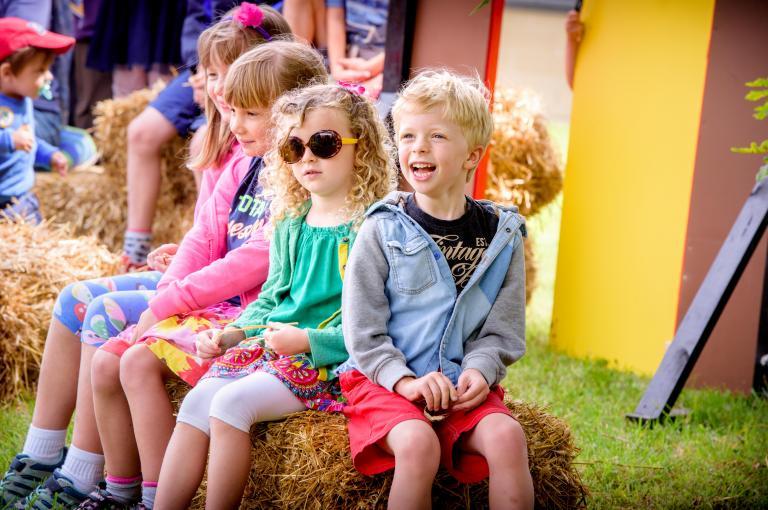 Kids enjoying the summer at Wakehurst