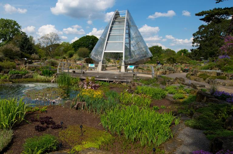The Davies Alpine House at Kew