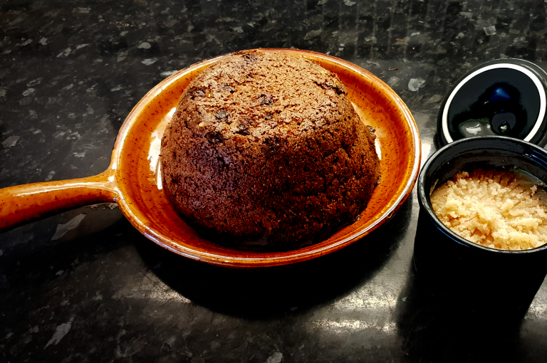 Wartime Christmas Pudding and Wurzel Butter