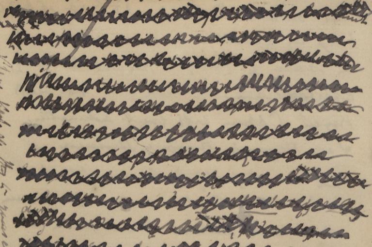 Joseph Dalton Hooker redacted letter