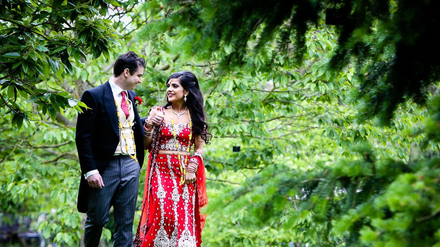 An Asian wedding at Kew