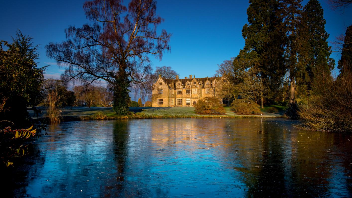 Icy Mansion Pond at Wakehurst