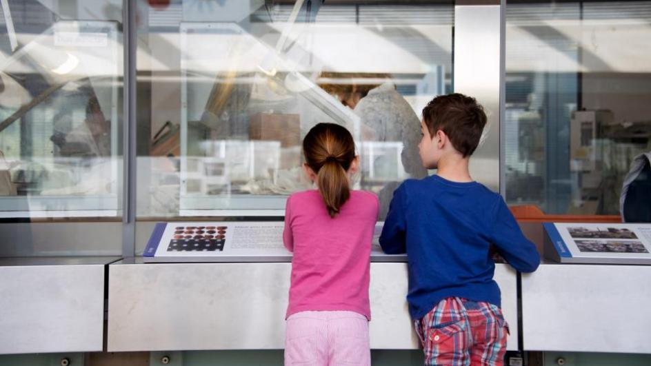 Children in the Millennium Seed Bank