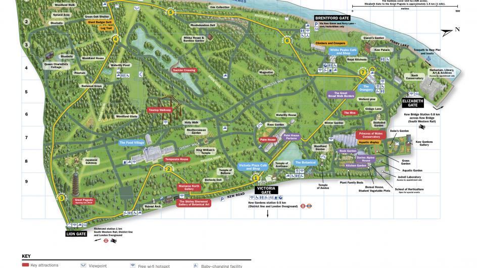 Kew Gardens Map Visit Kew | Kew