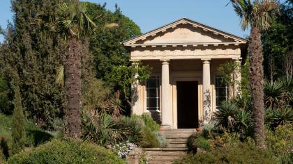 King William's Temple in the Mediterranean Garden