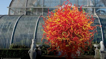 Dale Chihuly, Summer Sun, 2010 © Chihuly Studio