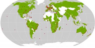 Kew's scientific work spans 110 countries