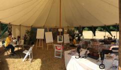 Botanical Studio stall at Wakehurst Science Festival 2018