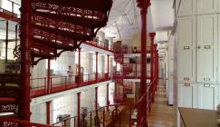 Photo inside the Herbarium at Kew