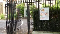 Library and herbarium main gate