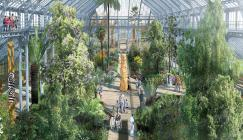 An artistic impression of the Temperate House