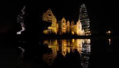 Christmas lights at Wakehurst