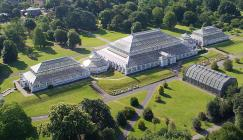 Aerial view of Temperate House