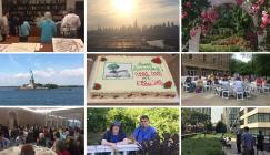 compilation of images from the trip to New york for the 50th and 25th anniversaries of CBHL and EBHL