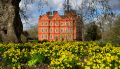 Kew Palace in spring