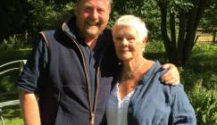 Tony Kirkham and Dame Judi Dench