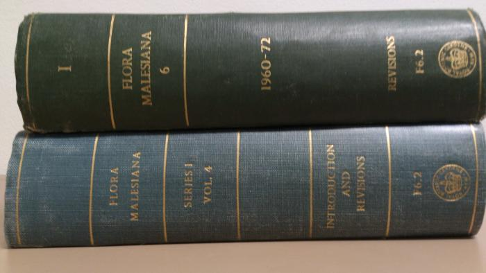 Picture if two volumes of Flora Malesiana