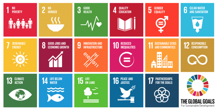 Image showing United Nations Sustainable Development Goals adopted by the General Assembly and promoted by the UN.