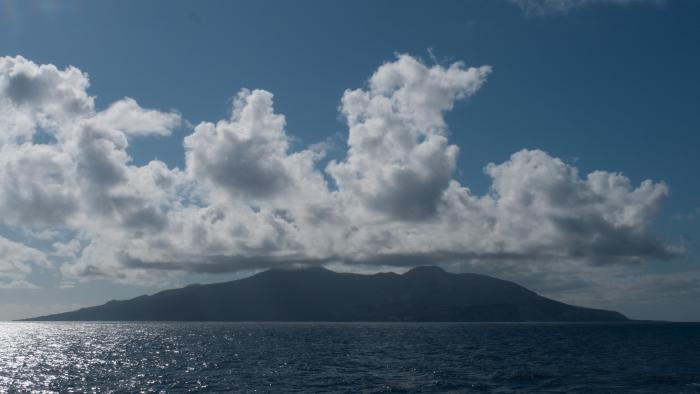 Ascension Island, midway between Brazil and Angola (Image: T. Heller)