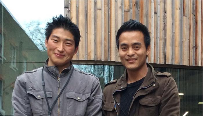 Mr Kencho Dorji and Mr Kezang Tobgay