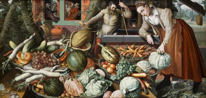 Image showing cabbage types in 16th Century Holland