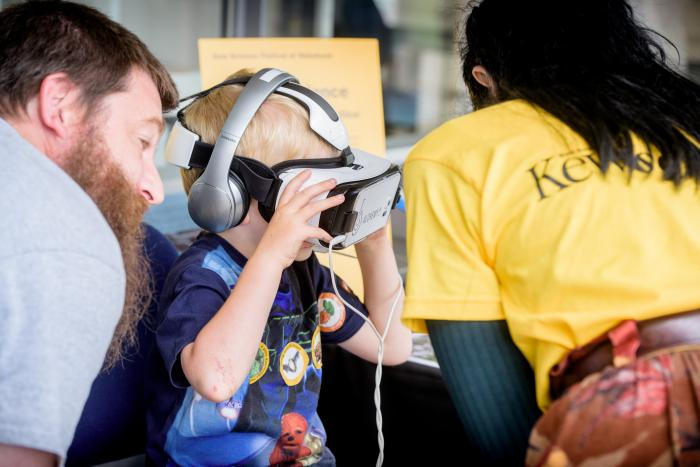 The Virtual Reality experience was a big hit!