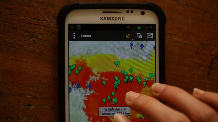 Screenshot of Locus map