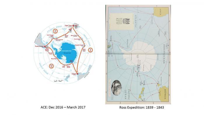 Antarctic Routes