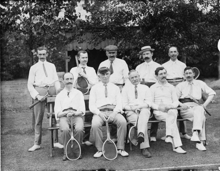Kew Tennis Club, 1908