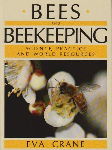 Photo of cover of Eva Crane's book 'Bees and Beekeeping: science, practice and world resources.'