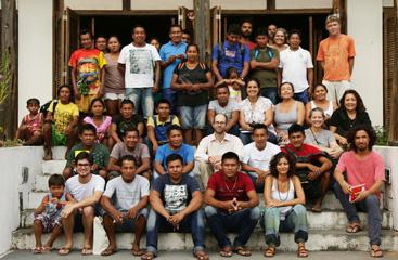 Amazon workshop group (Image: L. Martins)