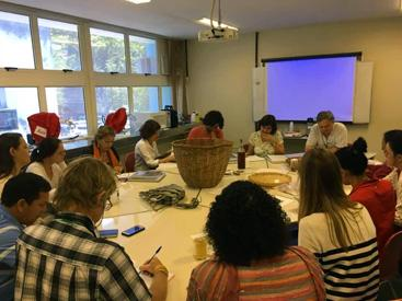 Biocultural collections workshop at Rio de Janeiro Botanical Garden (Image: Viviane Fonseca).