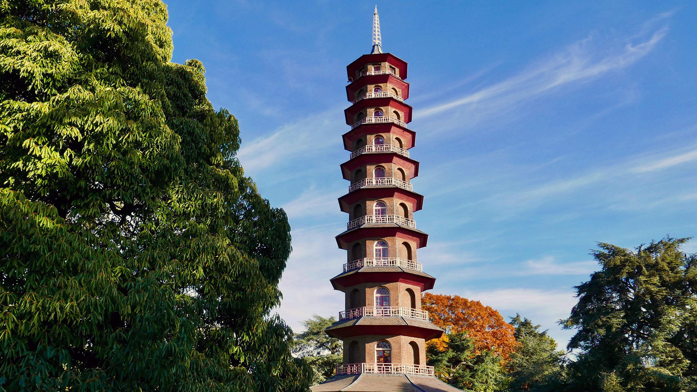 The Great Pagoda at Kew Gardens